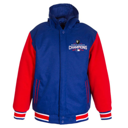 Women's JH Design 2016 World Series Champions Polytwill Reversible Hooded Jacket