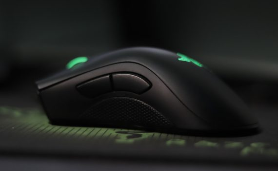 Black Razer Gaming Mouse