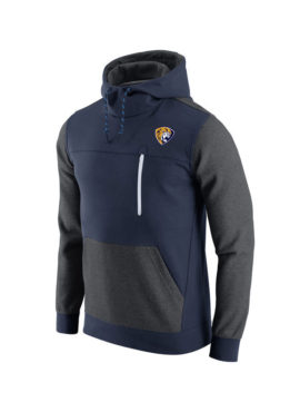 Men`s Navy California Splashes AV15 Fleece Pullover Hoodie