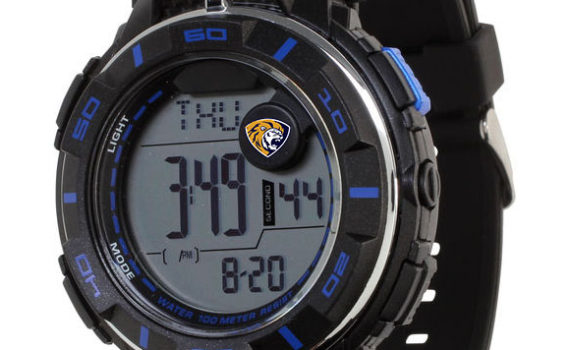 Men`s California Splashes Power Strap Digital Watch – Black