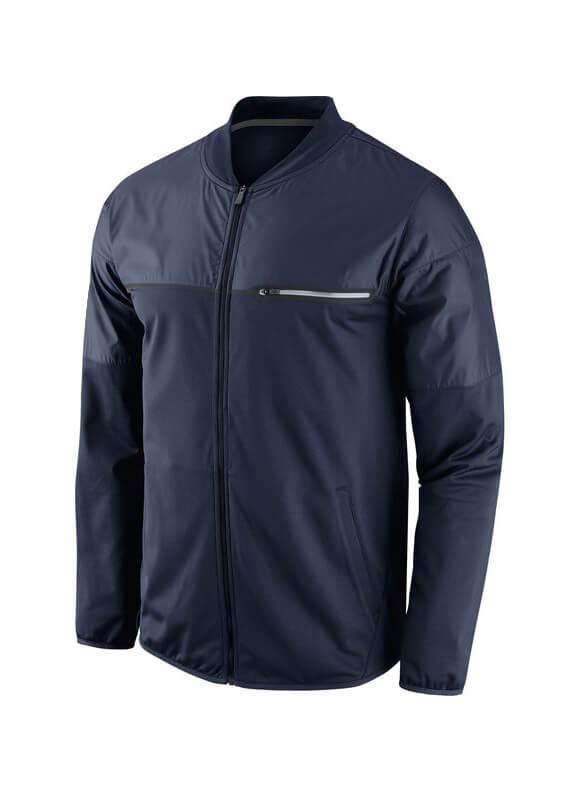 Men`s Navy California Splashes Elite Hybrid Performance Jacket