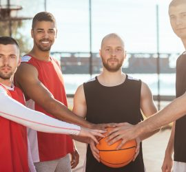 Successful basketball team